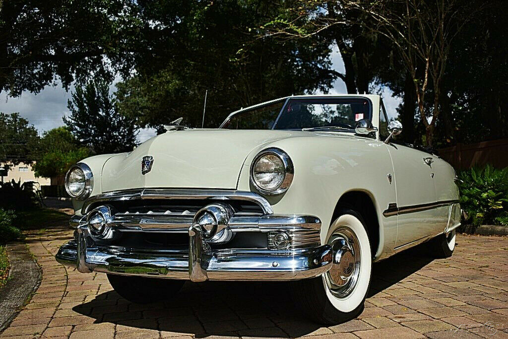 Simply Stunning 1951 Ford Custom Convertible 239ci Power top