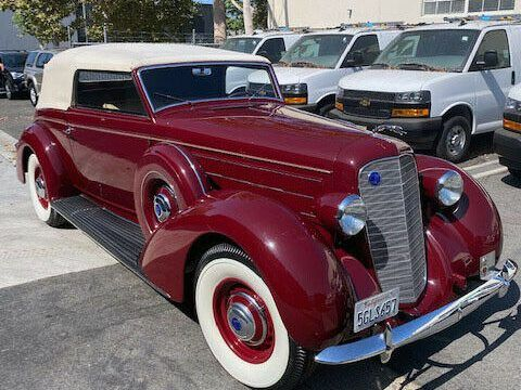 1936 Lincoln K Convertible Victoria by Brunn Very Rare Open K! Show Ready! for sale