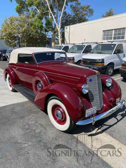1936 Lincoln K Convertible Victoria by Brunn Very Rare Open K! Show Ready!
