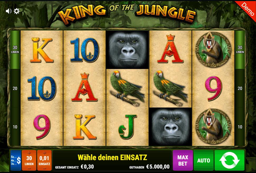 King Of The Jungle Casino