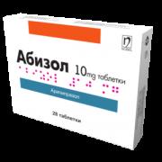 АБИЗОЛ ТБ 10МГ Х 28