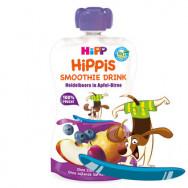 ХИП | HIPP БИО СМУТИ  ЯБЪЛКА И КРУША С БОРОВИНКИ 120ГР