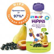 ХИП | HIPP 8526.02 ЗАКУСКА СЛИВА,КАСИС И КРУШИ 100ГР