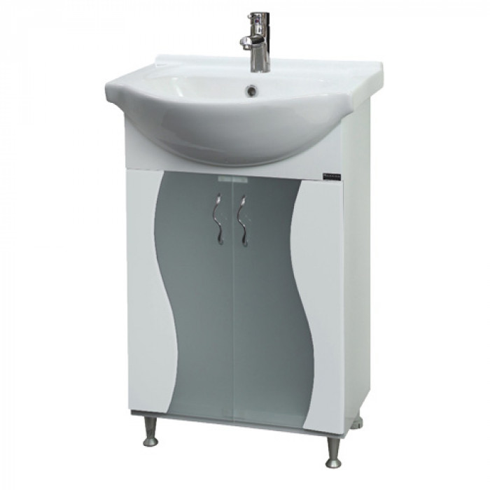Долен шкаф за баня с умивалник Макена Вега