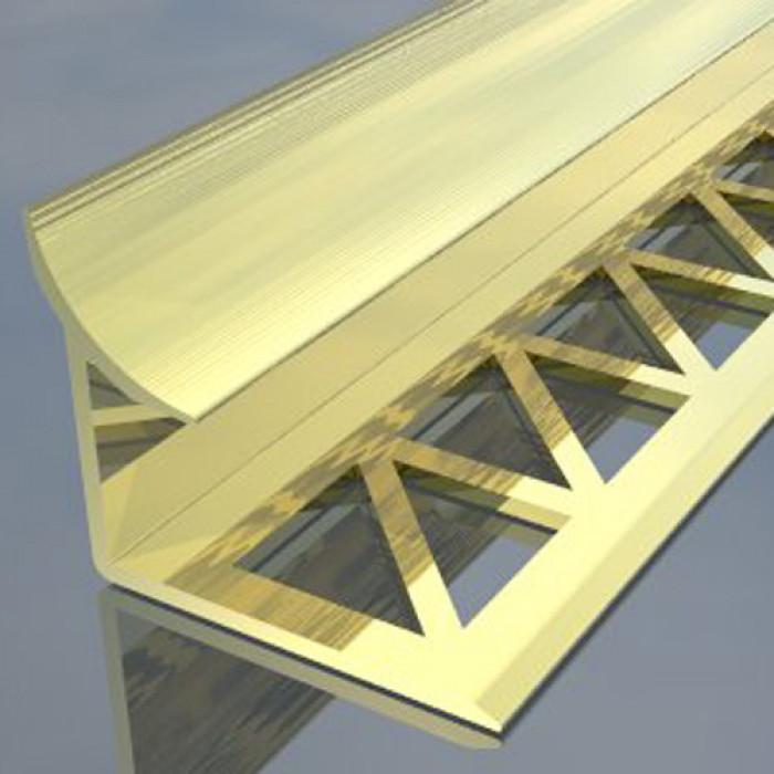 Алуминиева лайсна вътрешен ъгъл сребро 2.5 метра