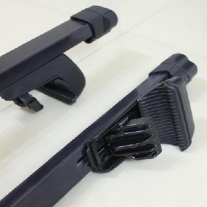 Метални напречни греди със заключване за автомобил Care 120 см / комплект 2 броя