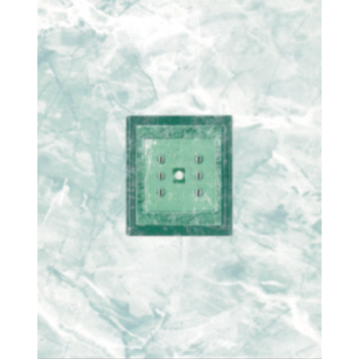 Стенни декоративни плочки 200 х 250 Силва лукс зелени