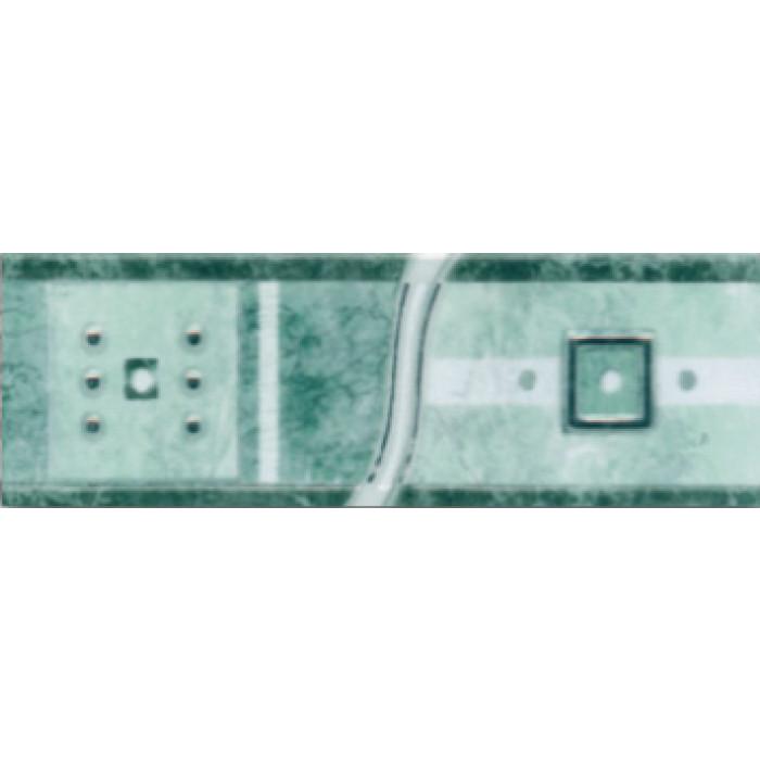 Стенни плочки / фриз 70 х 200 Силва лукс зелен