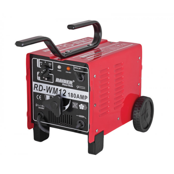 Електрожен Raider RD-WM12 180A / 9.6 kVa