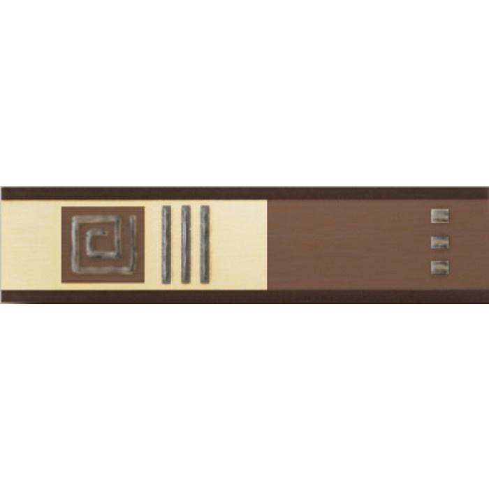 Стенни плочки / фриз 50 x 200 Осака кафяв