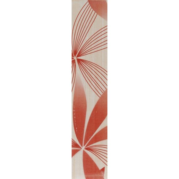 Плочки за стенна декорация / фриз  60x300 Русана комфорт бордо