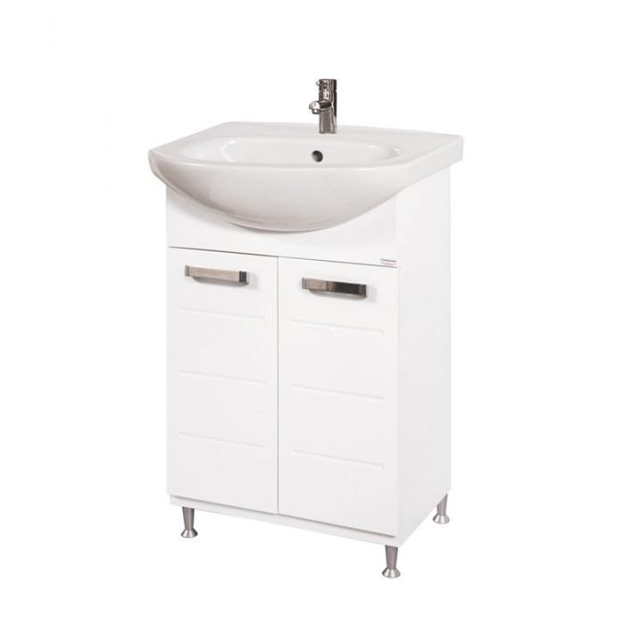 Долен PVC шкаф за баня с мивка Макена Класика