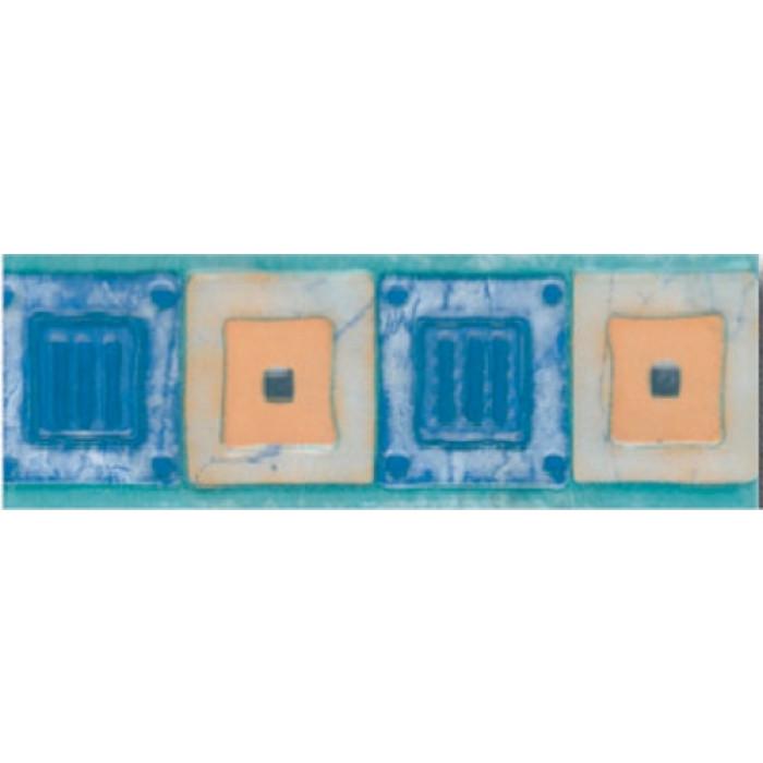 Плочки за стенна декорация / фриз 70x200 Сара комфорт сини