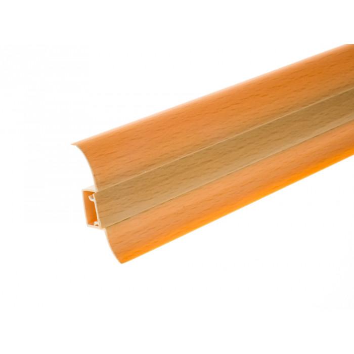 PVC перваз с кабел канал Salag SG56/02 бук