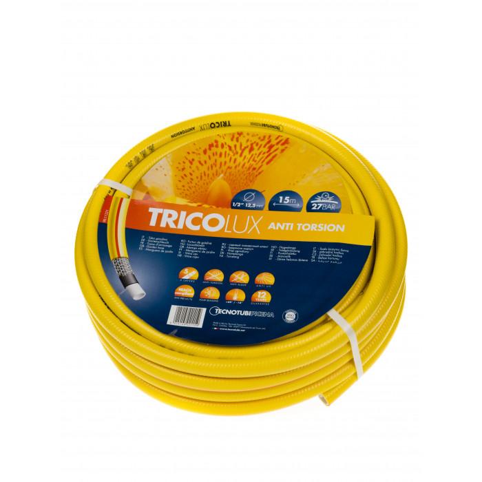 Градински маркуч Tecnotubi Picena Trico Lux 12.5 мм / 15 м