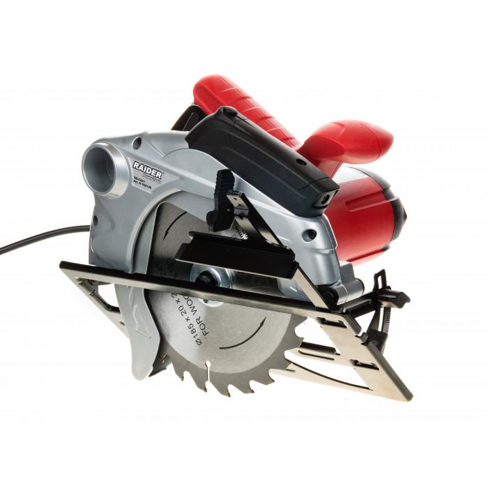 Ръчен циркуляр с лазер Raider RD-CS21 1300W