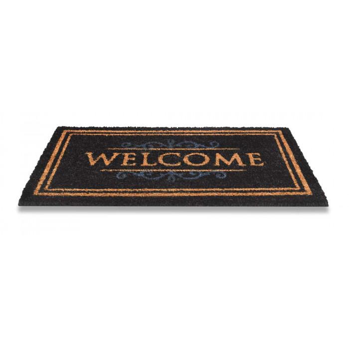 Изтривалка кокос Classic Welcome Black 40x70см