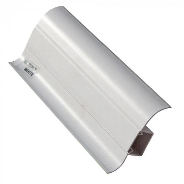 PVC перваз с кабел канал Salag SG56/00 бял