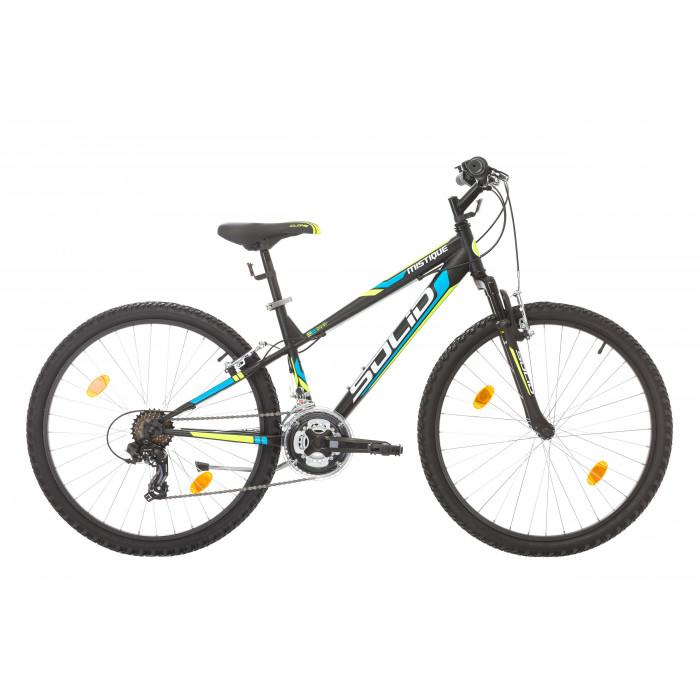"""Велосипед Solid Mystique 26"""" 21 скорости черен"""