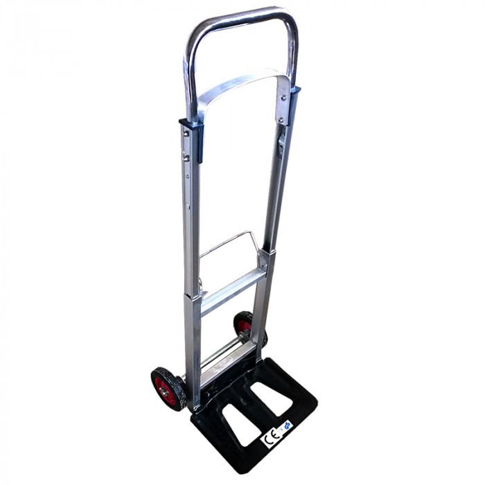 Транспортна сгъваема количка с две колела 90кг 1020х495/300х480мм