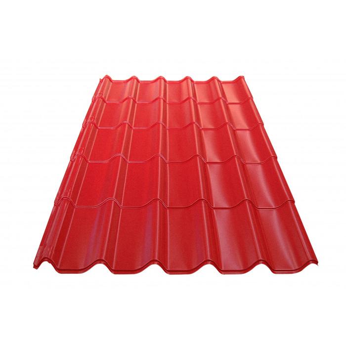 Метален покрив Eco 0.4mm / 2.14m керемиден цвят
