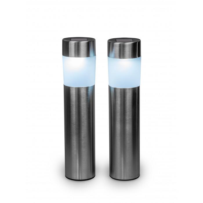 Соларна LED лампа 2 броя