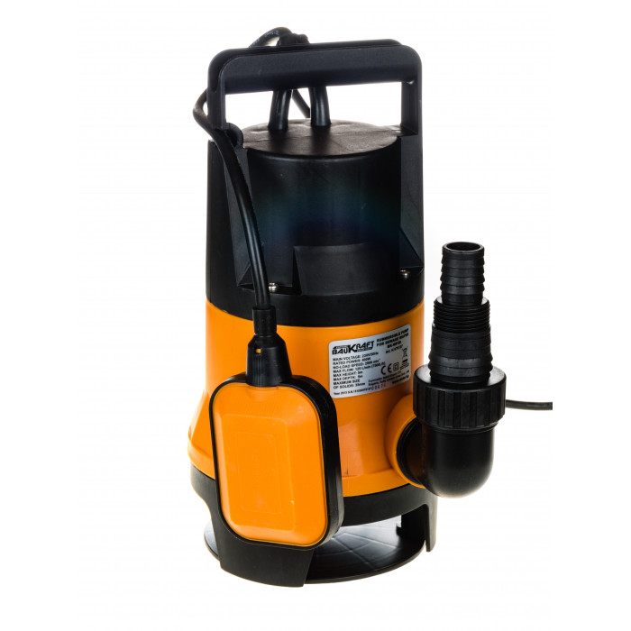 Потопяема водна помпа за мръсна вода Baukraft BK-WP30 / 400W