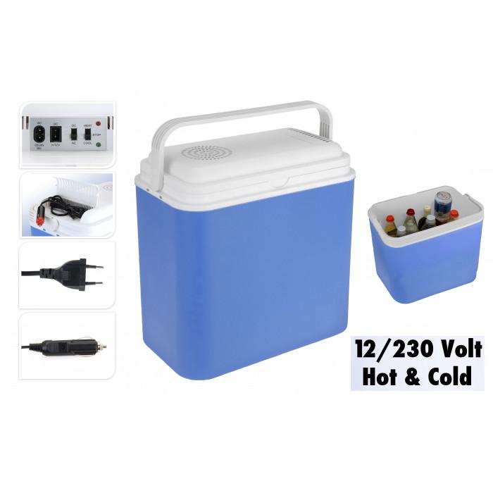 Електрическа хладилна чанта 24L 12V 230V