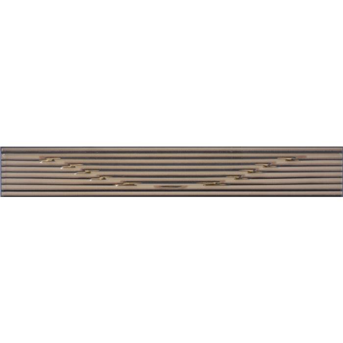 Стенни плочки / фриз 60 x 400 Сорел черен