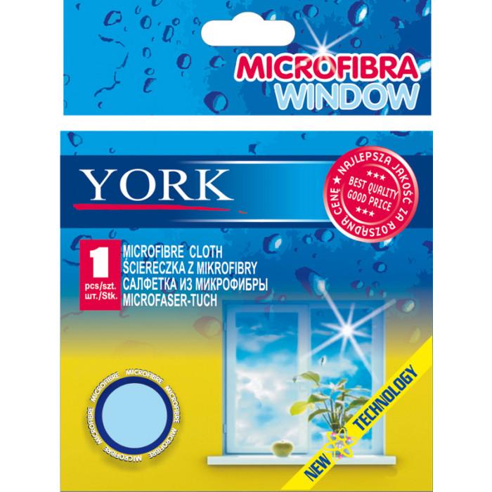 Микрофибърна кърпа за стъкла York