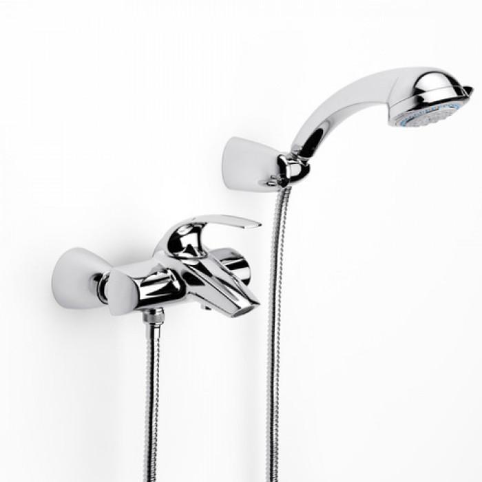 Стенен смесител за вана и душ Roca M2-N