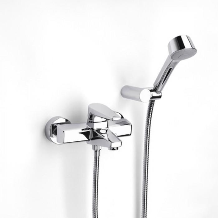 Стенен смесител за вана и душ Roca Esmai