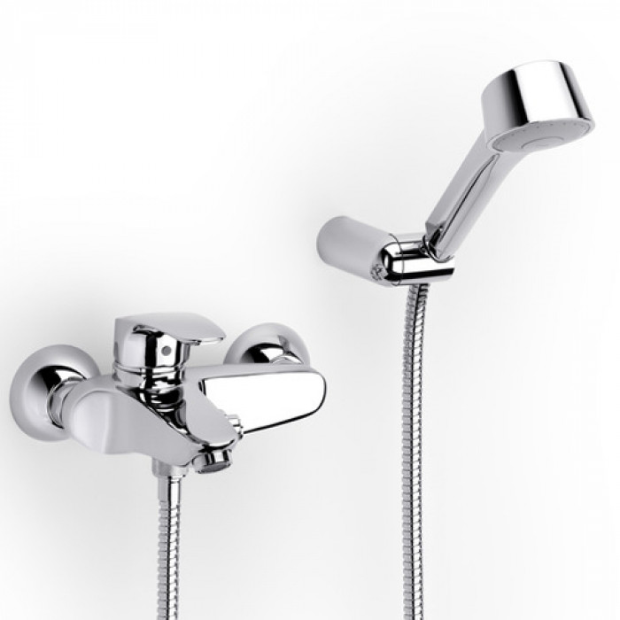 Външен стенен смесител за вана и душ Roca Monodin-N