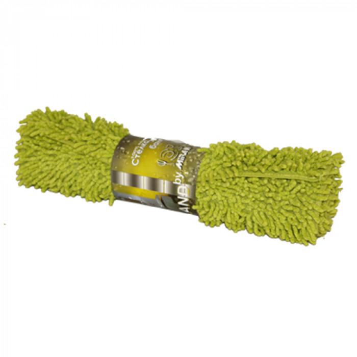 Стелка за баня MN-203 A / зелена 45х75 см
