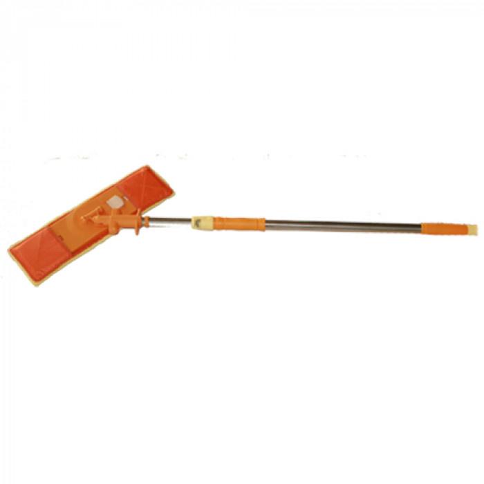 Подочистачка с микрофибър Лукс HY 0168 оранжева