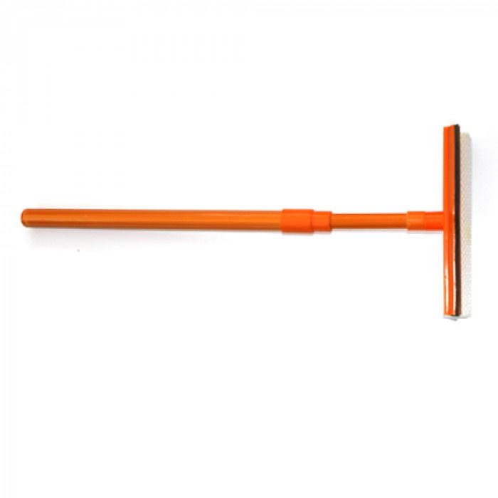 Стъклочистачка с микрофибър HY 069 / оранжева