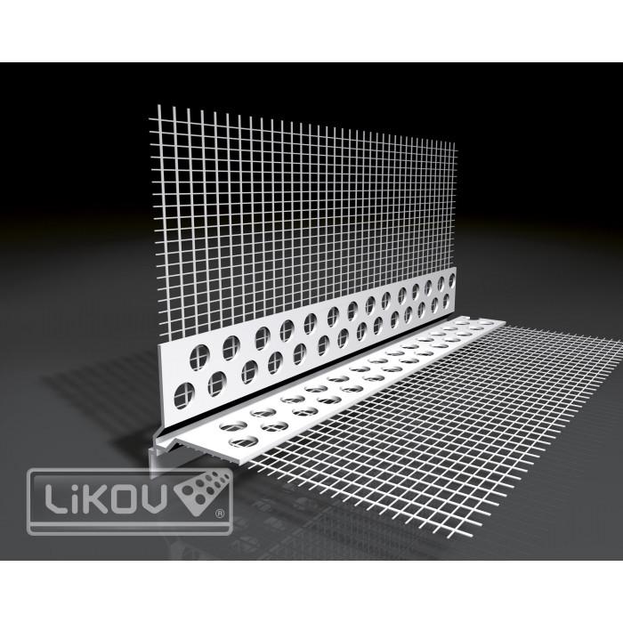 Откапващ ъгъл 2.5м VLT-2H - изравняващ мазилка