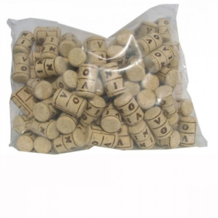Агломерирани коркови тапи 24х38 100 броя в опаковка