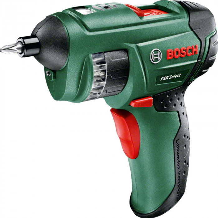 Акумулаторен винтоверт Bosch PSR Select 3,5/4,5 Nm