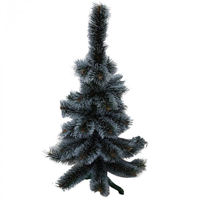 Жилкова елха с бял връх 80см