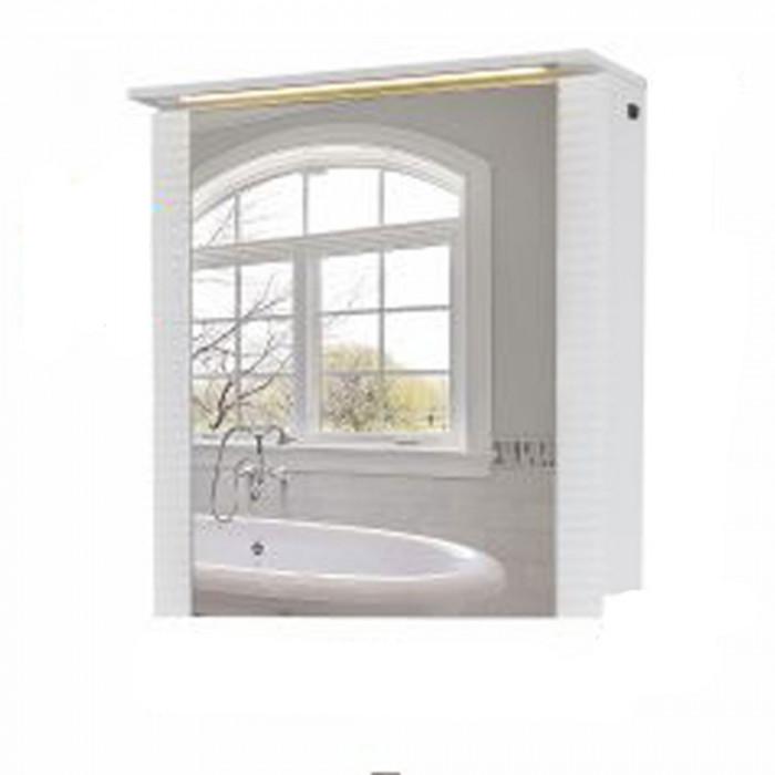 Горен шкаф за баня с огледало Макена Нано