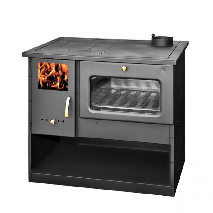 Готварска печка Металургия със стъкло 9.0kW