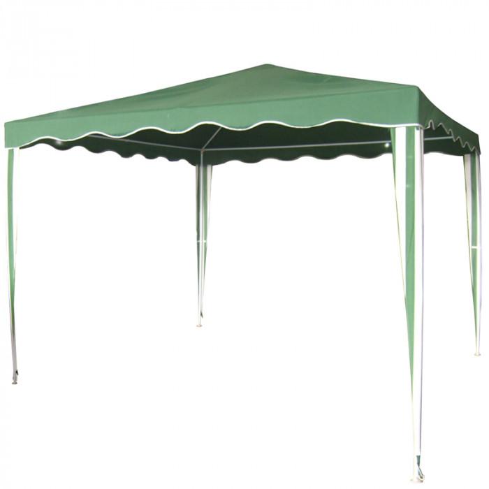 Градинска шатра полиестер My Garden TLC001-A / зелена 3х3м