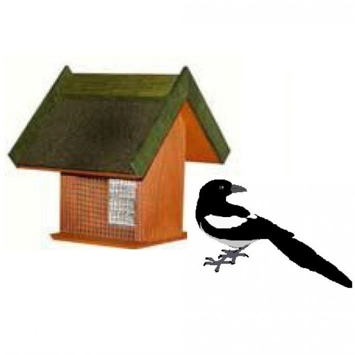 Хранилка за птици / 21х21х33 см