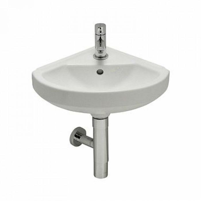 Ъглова мивка Matiz 38.5см бяла