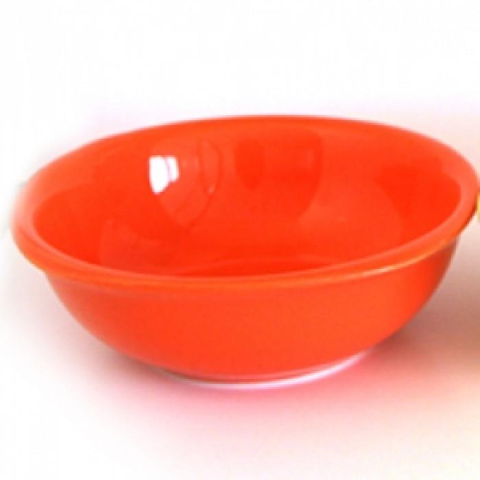 Керамична квадратна купа 16см оранжево