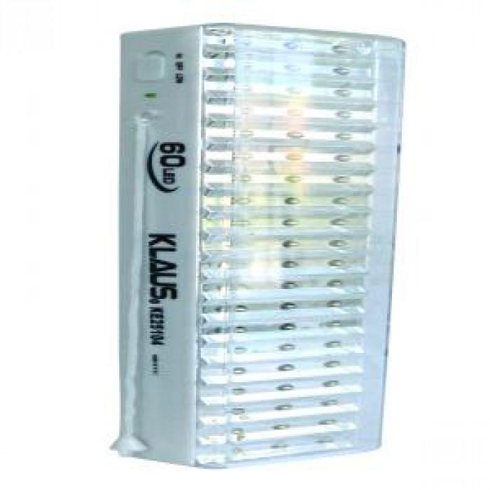 LED лампа със зарядно Klaus 60 4 часа