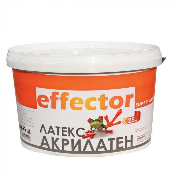 Акрилен латекс Effector 25кг бял