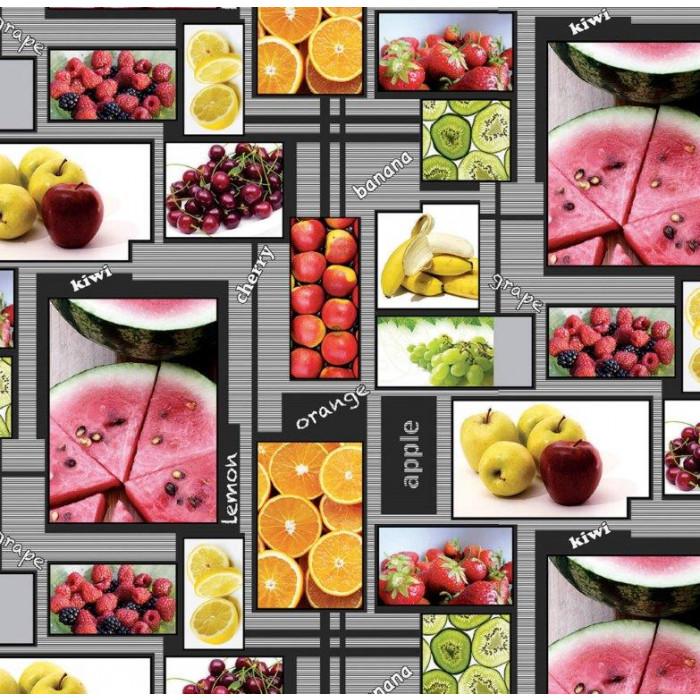 Мушама фантастик 710/1 плодове 140 см