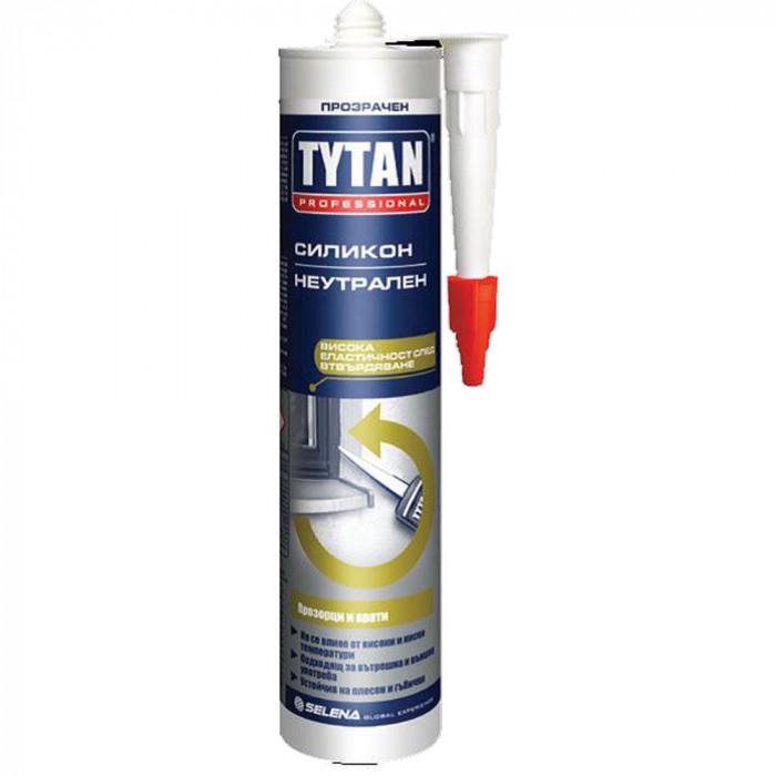 Неутрален силикон Tytan Professional 280мл прозрачен
